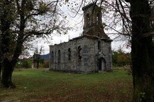 verfallene Kirche, Krotien